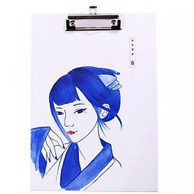 Kẹp tài liệu A4 phong cách cổ trang Nhật Bản