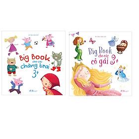 Combo Big Book Cho Các Chàng Trai 3+ Và Big Book Cho Các Cô Gái 3+