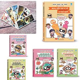 Combo 1 - Sách Bách khoa tri thức dành cho học sinh (5 cuốn) Tặng 01 Bookmark