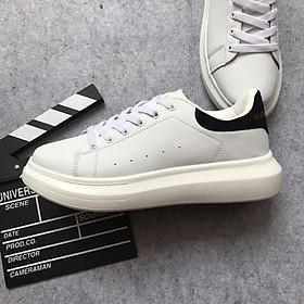 Giày thể thao trắng gót đen [ full size ]
