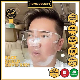 *HÀNG SẴN CÓ*Mặt nạ - kính chống dịch COVID,kính bảo hộ, chống giọt bắn, chống bụi, đi đường hàng xịn giá tốt
