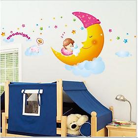 Decal dán tường chúc bé ngủ ngon size to LALA SHOP DC072 (80 x 130 cm)