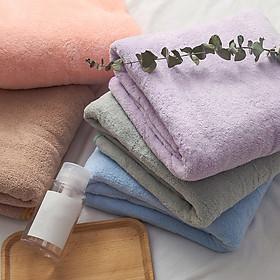 Khăn Tắm Lông Mềm Mại Như Lông Cừu Nhanh Khô Dùng Trong Phòng Tắm Soft Fluffy Towels Coral Fast Drying