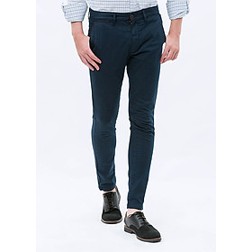 Quần Kaki Nam THE COSMO Garment - Dyed Chinos - Navy