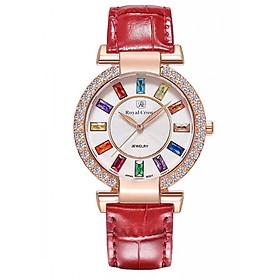 Đồng hồ nữ chính hãng Royal Crown 4604ST - RG đỏ