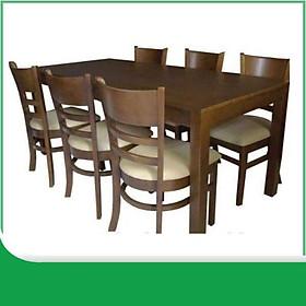 Bộ bàn ăn cabin 6 ghế