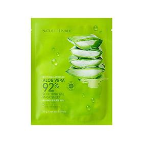 Nature Republic Aloe Vera Soothing Gel Moisture Mask Sheet 1pc Korea