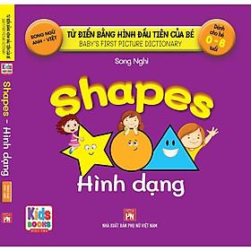 Sách - Baby'S First Picture Dictionary - Từ Điển Bằng Hình Đầu Tiên Của Bé - Hình Dạng (Bìa Cứng)