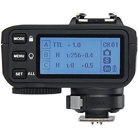 Điều khiển đèn Godox X2T-C-TTL 2.4G Wireless Flash Trigger cho Canon Hàng Nhập Khẩu