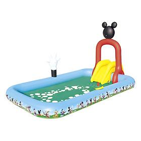 Bể Phao Liên Hoàn Trượt Mickey Bestway 91016