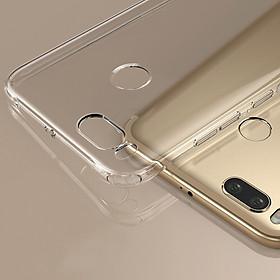 Hình đại diện sản phẩm Ốp Lưng Silicon Bảo Vệ Cho Xiaomi Millet 5X Valea - Trong Suốt