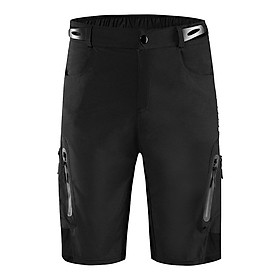 Men's Cycling Shorts Bike Bicycle Half Pants for Basketball, Running, Workout, FItness, Breathable & Absorbent - Choice of Size