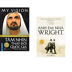 Combo 2 cuốn sách: My ViSion - Tầm Nhìn Thay Đổi Quốc Gia + Anh Em Nhà Wright