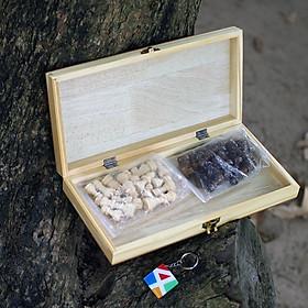 Bộ cờ vua gỗ cho trẻ em, đồ chơi giáo dục vận động an toàn giúp bé thông minh từ nhỏ