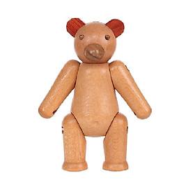 Đồ chơi bằng gỗ hình gấu Miniso TG2028 - Hàng chính hãng