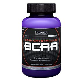 Viên Uống Tăng Sức Mạnh Và Sức Bền 100% Crystalline BCAA Ultimate Nutrition SMUN405 (120 Viên)