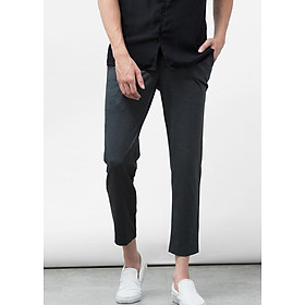 Quần Tây The Cosmo Printed Trousers (Charcoal)