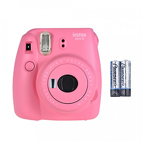 Máy Ảnh Selfie Lấy Liền Fujifilm Instax Mini 9 Kèm 2 Viên Pin