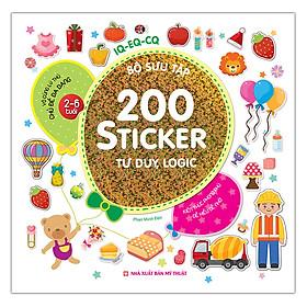 Bộ Sưu Tập 200 Sticker - Tư Duy, Logic