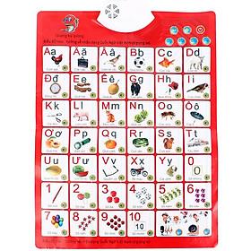 Bảng chữ cái điện tử nói tiếng việt thông minh đa chức năng cho bé