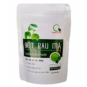 Bột rau má nguyên chất Quảng Thanh 100g (Mẫu mới)