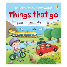Very First Words Things That Go