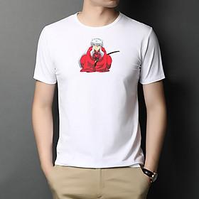 Áo Thun Nam Cực Hot - Chất Cotton - Dáng Body Thời Trang Hàn Quốc Giá Rẻ Cực Đẹp Kiểu Dáng Năng Động Cá Tính Siêu Hot Phù Hợp Đi Làm, Đi Chơi ANM-101 Inuyasha