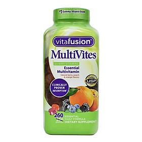 Kẹo Dẻo Bổ Sung Vitamin Cho Người Lớn Vitafusion MultiVites Multivitamin 260 Viên ( Mẫu Mới ) Hàng Nhập Mỹ bổ sung các vitamin và khoáng chất ,chống loãng xương và bôi trơn khớp