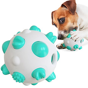 Spherical Dog Toy Molar Stick Bite-resistant Tooth brush Pet Dog Toys Stretch Rubber Chew Toys Tooth Cleaning Balls Puppy Toys