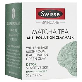 Swisse Matcha Tea Anti Pollution Clay Mask 70g