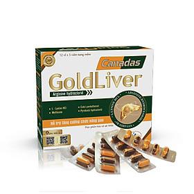 Viên uống bổ gan Canadas GoldLiver - Tăng cường chức năng & Bí quyết bảo vệ Gan khỏe mạnh