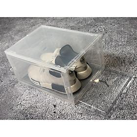[SIZE LỚN] Hộp đựng giày nhựa cứng cao cấp