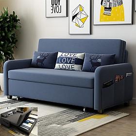 Sofa giường đa năng  V6-2 + 3 gối cao cấp (giao màu ngẫu nhiên)