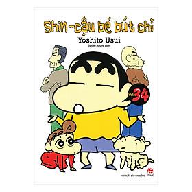 Shin - Cậu Bé Bút Chì Tập 34 (Tái Bản 2019)