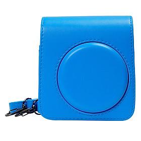Bao Da Bảo Vệ Máy Chụp Ảnh Lấy Liền Instax Mini 70 CASE705 – Blue – Hàng Nhập Khẩu