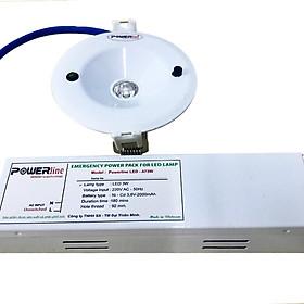 Đèn chiếu sáng khẩn cấp âm trần Powerline AT-3W