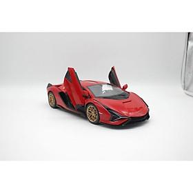Xe điều khiển 1:14 Lamborghini Sian, có thể mở cửa Đỏ RASTAR R97700/RED