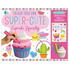 Colour Your Own Super-Cute Cupcake Squishy