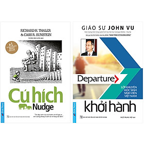 Combo 2 Cuốn: Cú Hích + Khởi Hành (Tái Bản)