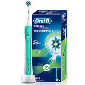 Bàn Chải Đánh Răng Điện Oral-B Pro 600 - Xanh