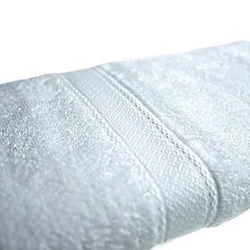 01 khăn tắm khách sạn, spa cotton Mollis B853 60 x 120 cm