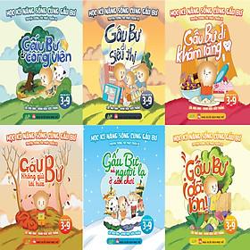Sách kĩ năng hay dành cho bé - Trọn bộ Học Kỹ Năng Sống Cùng Gấu Bư