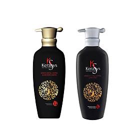 Bộ dầu gội, xả giảm gãy rụng tóc tinh chất hồng sâm KERASYS HAIR FALL CONTROL 400ml - Hàn Quốc Chính Hãng