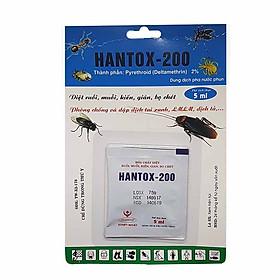 Dung dịch diệt kiến gián côn trùng Hanvet Hantox - 200 (5ml)