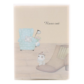 Sổ Nhựa Trong Nhỏ 6434 - Hình Mèo