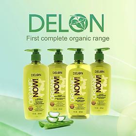 Dầu Xả DELON Organic Now chiết xuất từ nha đam hữu cơ dung tích 325ml - Organic Now Conditioner 325ml-2