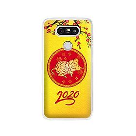 Ốp lưng dẻo cho điện thoại LG G5 - 01163 7943 HPNY2020 03 - Chúc mừng năm mới - Xuân Canh Tý 2020 - Hàng Chính Hãng