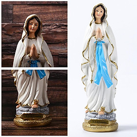 Our Lady of Grace The Blessed Virgin Mary Figure Handmade Religious Gift
