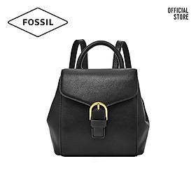 Balo nữ nhỏ thời trang Fossil Liv Mini Backpack ZB1352001 - màu đen