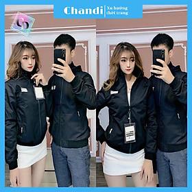 Áo Khoác Dù Nam Nữ Unisex , thời trang thu đông thương hiệu Chandi chất liệu thấm hút mồ hôi dày dặn mặc thoáng mát KD01